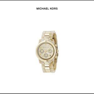 Michael Kors | Horn & Gold Band Watch